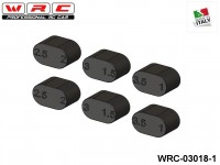WRC Racing STX-001 WRC-03018-1 DOUBLE ALUMINIUM SUSPENSION BLOCK BUSHES KIT